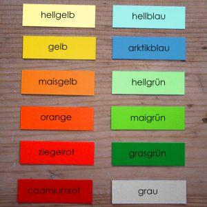 Umschlagfarben